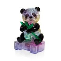 Панда с веткой со светом Crystal Puzzle 3d