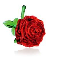 Роза New со светом Crystal Puzzle 3d