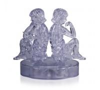 Кристалл Puzzle 3D - Близнецы со светом Crystal Puzzle 3d