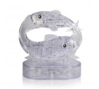 Кристалл Puzzle 3D - Рыбы со светом Crystal Puzzle 3d