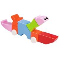 22 детали Xinbida Детский магнитный конструктор с погремушками